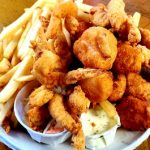 Seafood Platter With Whole Belly Clams